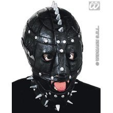 Black Maniac Gimp Mask - Fancy Halloween Spooky Masks Eyemasks Disguises -  maniac fancy mask halloween spooky masks eyemasks disguises masquerade