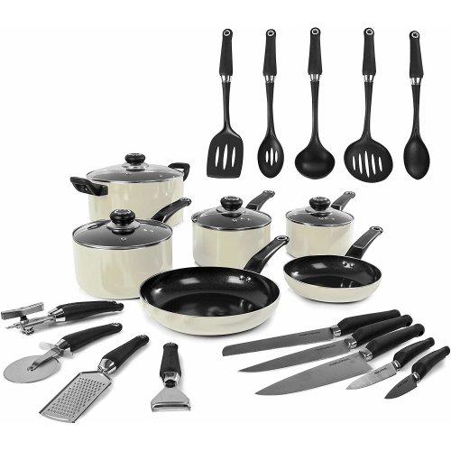Morphy Richards 970052 Equip Frying Pan/Saucepan 14 Piece Tool Set