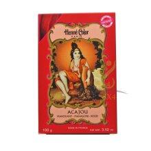 Mahogany Henna Hair Colour Natural Ammonia Free Colouring Powder 100g