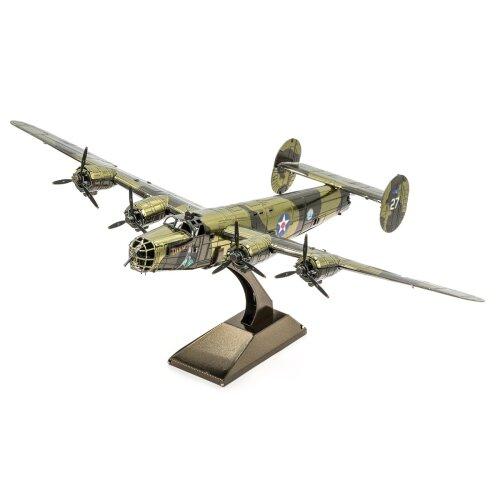 B-24 Liberator : Metal Earth 3D Laser Cut Miniature Model Plane Kit MMS179 Age 1