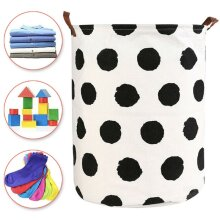 Foldable Washing Clothes Laundry Basket Storage Hamper Bin Bag Tidy Home