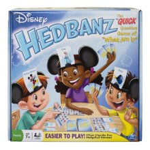 Disney Hedbanz Card Game