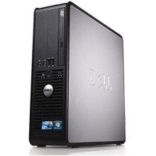 Dell Optiplex Desktop PC, Dual Core, 4GB Ram, 160GB Hard Drive, DVD, WiFi enabled Windows 10 (Renewed) - Refurbished