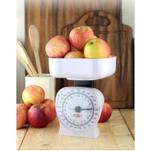 Apollo Kitchen Scale Large 5kg / 11Lb White, 15x13x18