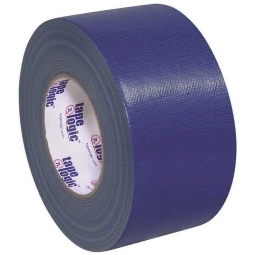 Tape Logic T988100BLU3P 3 in. x 60 Yards Blue Tape Logic 10 mil Duct Tape, Pack of 3 - 3 Per Case