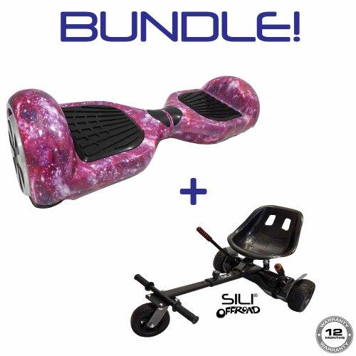 """6.5"""" Hoverboard + SILI Offroad Hoverkart *BUNDLE*"""