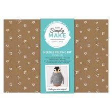 Simply Make Needle Felting Kit - Penguin