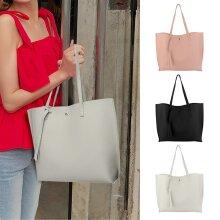 Ladies Shoulder Bag Tote Handbag Leather