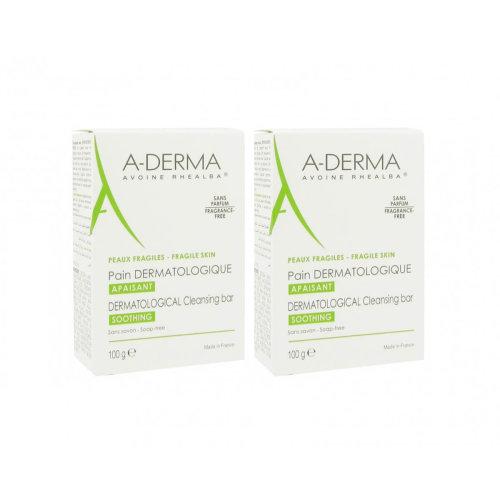 A-Derma Dermatological Bar Duo 2x100gr