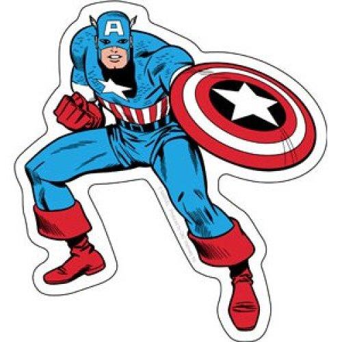 Sticker - Marvel - Captain America - Full Body New Toys s-mvl-0003