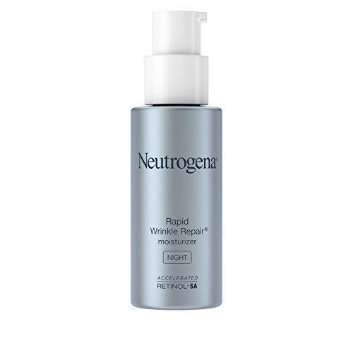 Neutrogena Rapid Wrinkle Repair Retinol Anti-Wrinkle Night Cream, Anti-Wrinkle Face & Neck Cream Moisturizer with Hyaluronic Acid, Retinol & Glycerin,