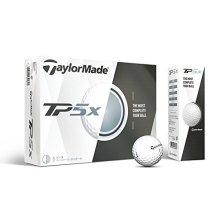 TaylorMade TP5X Golf Balls White One Dozen
