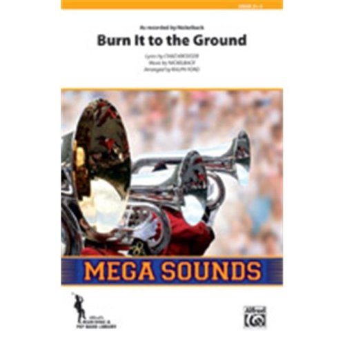 Alfred 00-38556S S Burn It To The Ground-Mss Book