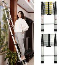 3.2m New Multi-Purpose Aluminium Telescopic Ladder Extension Extendabl