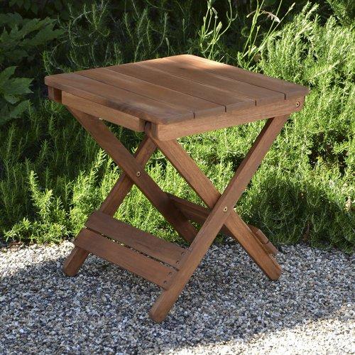 Plant Theatre Adirondack Outdoor Folding Hardwood Table