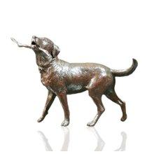Bronze COUNTY WALK Labrador Dog Ltd Ed 95 Michael Simpson 2.8KG