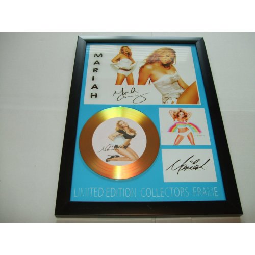 mariah carey signed gold disc