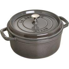 STAUB Cocotte Round 20cm Graphite grey