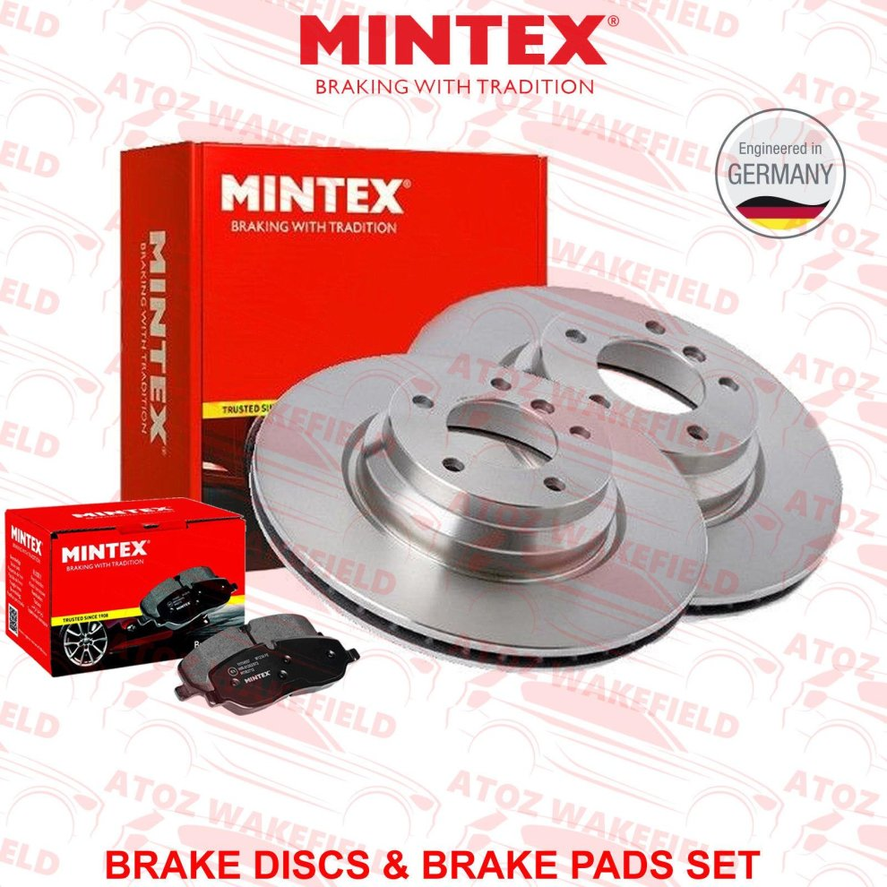 Yaris 1.4 D4D Rear Drilled Grooved Brake Discs 06