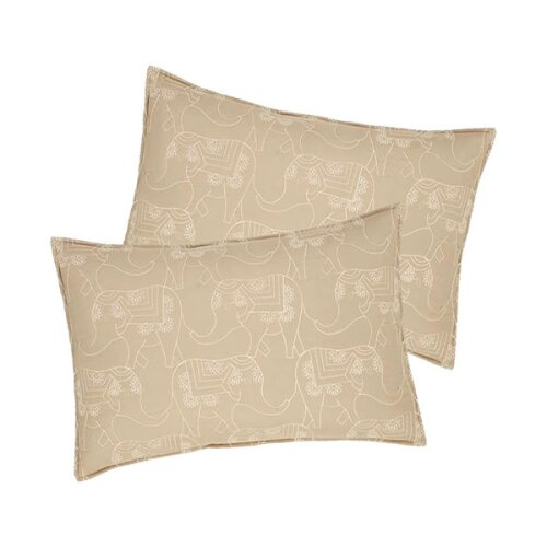 Catherine Lansfield Elephant Easy Care Pillowshams