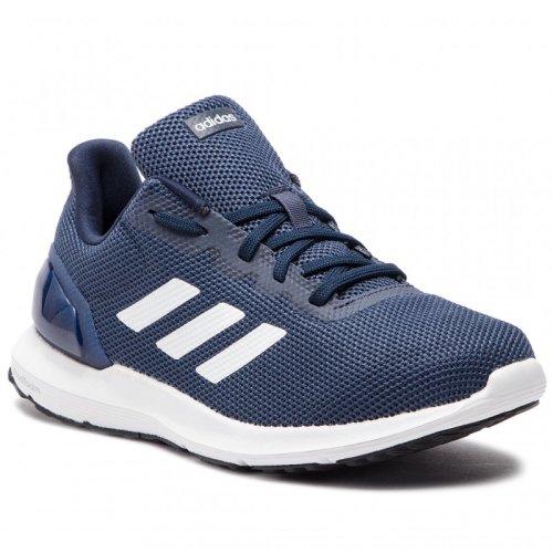 (UK 9) New Adidas Cosmic 2 Navy Blue Men's Running Trainers Comfortable Sneakers