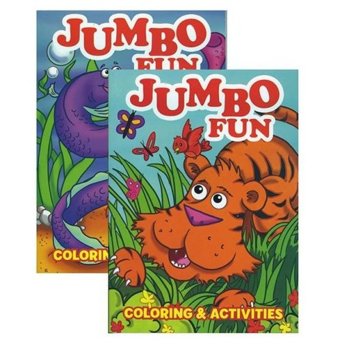 Bazic Products 12108 Jumbo Fun Coloring & Activity Book
