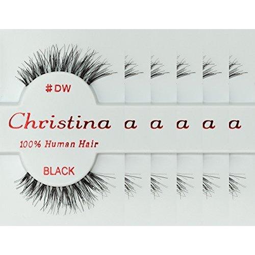 6Packs Eyelashes Dw By Christina