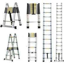 Portable Telescopic Aluminum Ladder
