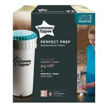 Tommee Tippee Replacement Filter for Perfect Prep Baby Bottle Machines, 2 Pk