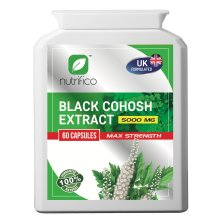 Black Cohosh 10:1 Extract 5000mg High Strength Concentrated Pills