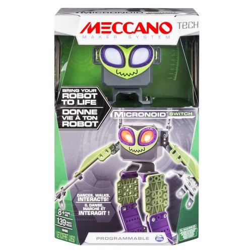 Meccano 20078530-6033259 Robot, Switch