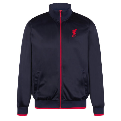 Liverpool FC Official Football Gift Mens Retro Track Top Jacket