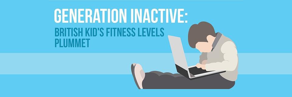 'Generation Inactive': British kid's activity levels plummet