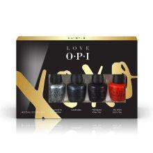 OPI XOXO Nail Lacquer, Mini Pack of 4