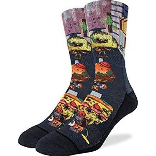 Socks - Good Luck Sock - Men's Active Fit - Rotten Food (8-13) 4108