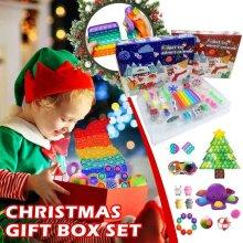 Christmas Advent Calendar Fidget TOY IN STOCK Activity Set XMAS Gift Bard NEW