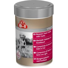 8 In 1 Brewers Yeast With Garlic Dog Supplement Tablets