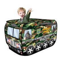 deAO Military Vehicle Army Foldable Play Tent Children Play House
