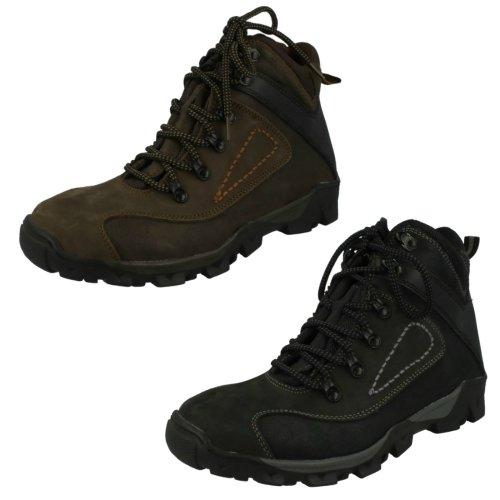Mens Spot On Walking Boots