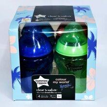 Tommee Tippee Hawaii Baby Feeding Bottle 260ml 0m+