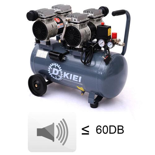 Ultra Quiet & Oil-Free Steel Tank Air Compressor 60dB