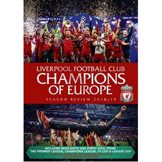 Liverpool Football Club End of Season Review 2018 to 2019 DVD [2019]