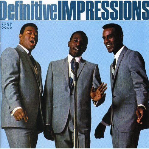 IMPRESSIONS THE - THE DEFINITIVE IMPRESSIONS [CD]