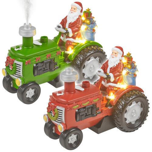Musical Light Up   Santa Tractor
