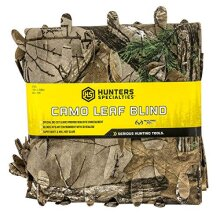 Hunters Specialties 021291073306Hunter's Specialties Lightweight Material Camo Leaf Blind 56-Inch x 12-Feet Realtree Xtra
