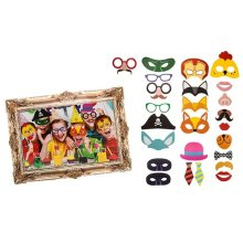 Elves Behavin' Badly Selfie Kit Photo Booth Props - Christmas Party Accessories