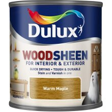 Dulux Interior & Exterior Woodsheen 250ml Warm Maple