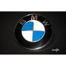 Modifix - BMW Badge Emblem Logo Replacement Front Rear 82mm for BMW 1 2 3 4 5 6 7 Series M Sport