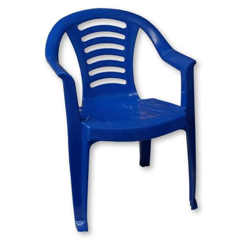 Kids Plastic Chair - Blue