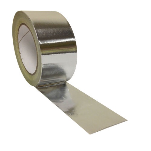 Aluminium Foil Tape Roll Heat Insulation Reflective Duct Self Adhesive